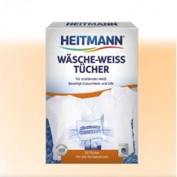 HEITMANN Wäsche-Weiß Tücher - 20 St.