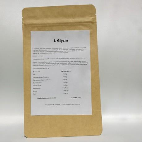 L-Glycin Pulver 100% reines - 100gr und 200gr
