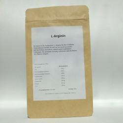 L-Arginin Base Pulver 100% rein