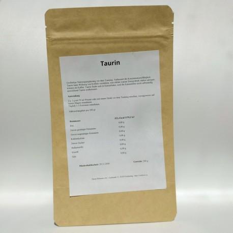 L-Taurin reines Pulver - 100 gr und 200 gr