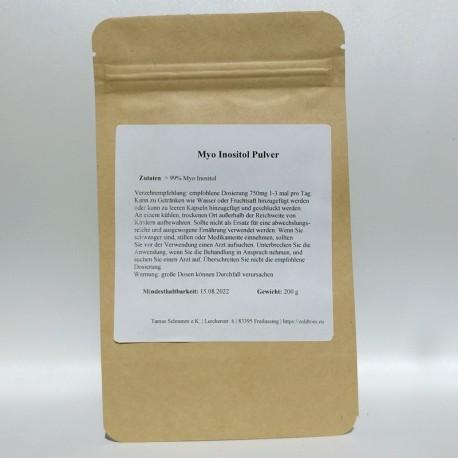 MYO-Inositol Pulver - 200 gr