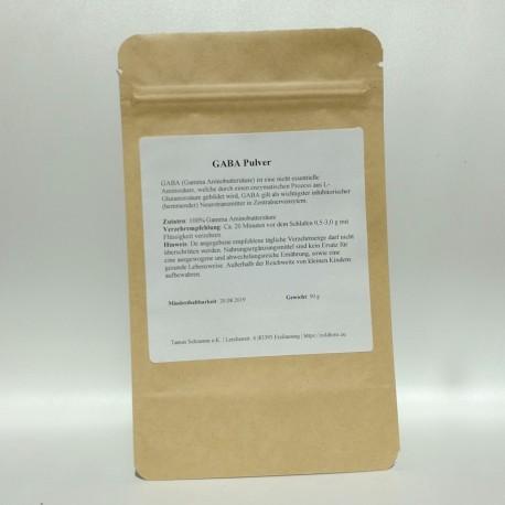 Gaba Pulver, Gamma Aminobuttersäure Pulver - 50 gr und 100 gr