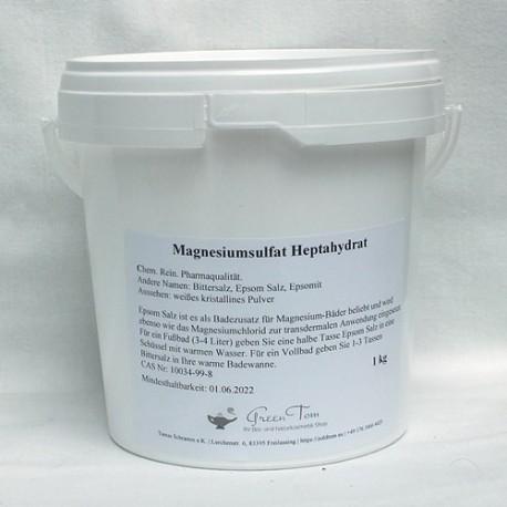 Magnesiumsulfat (Epsom Salz) - 1 kg und 3 kg