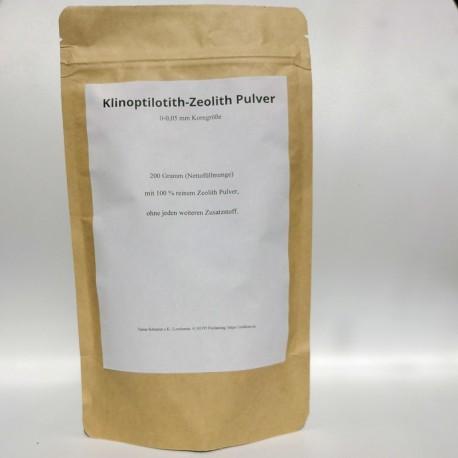 Naturklinoptilolith-Zeolith Pulver  - 200 gr