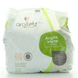 Argiletz Grüne Mineralerde superfein gemahlen (surfine) - 1 kg