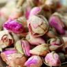 Rosablüten, rot, geschnitten