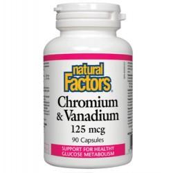 Chromium Vanadium 125 mg 90 Kapseln