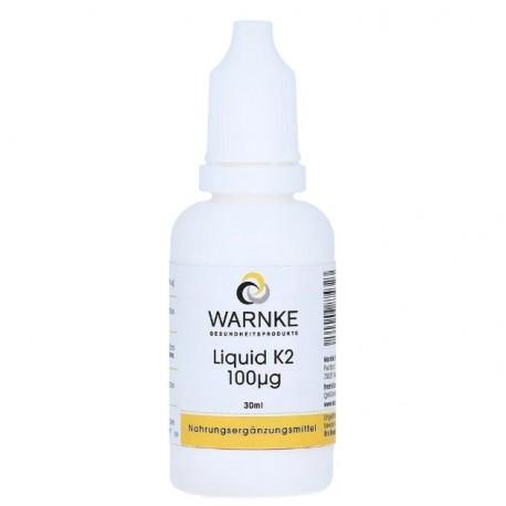 Liquid Vitamin K2-Öl - 30 ml, Vegan, Lactosefrei, Hefefrei, Glutenfrei, Gelatinfrei