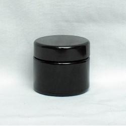 Miron Violettglas Cremedose mit Deckel - 50 ml
