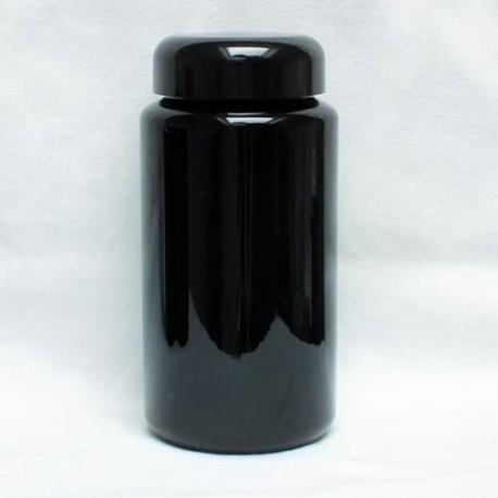 Miron Weithals Violettglas mit Deckel - 400 ml