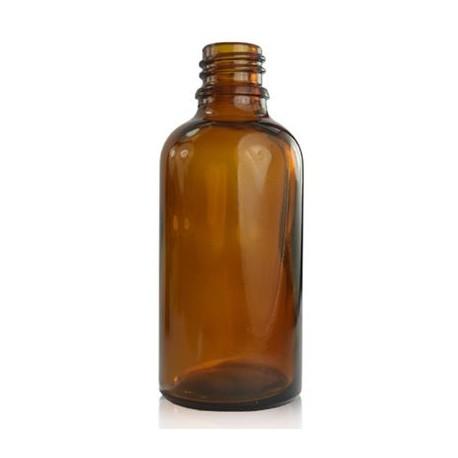 Braunglasflasche DIN 18 – 50 ml