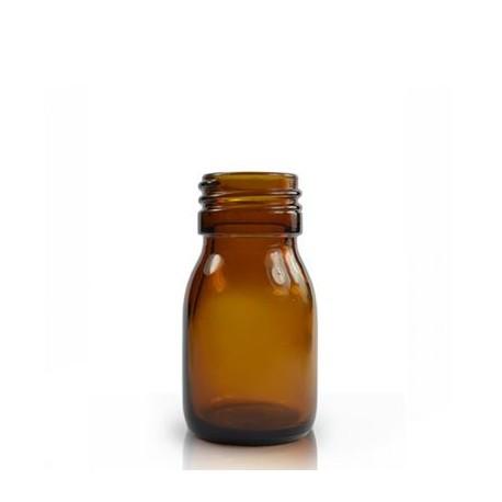 Braunglasflasche DIN 28 – 30 ml