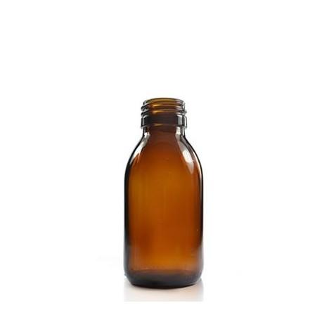 Braunglasflasche DIN  28 – 100 ml