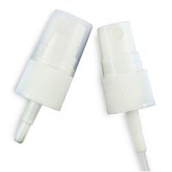 Pumpzerstäuber weiß inkl. Kappe 18 mm
