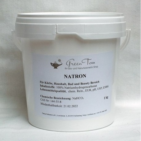 Natriumhydrogencarbonat,  Natron Pulver, Natriumbikarbonat