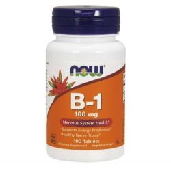 Vitamin B1 100 mg 100 Tabl Vegan