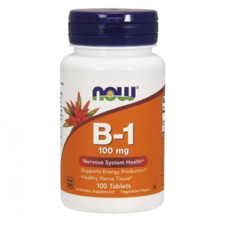 Vitamin B1 100 mg 100 Tabletten, Vegan, Vegetatisch, Kosher