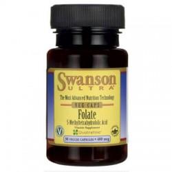 Swanson 5-Methylfolate 400 mg 30 Kapseln