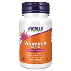 Vitamin A 10.000IU 100 Weichkapseln