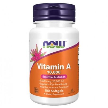 Vitamin A 10.000 IU 100 Weichkapseln