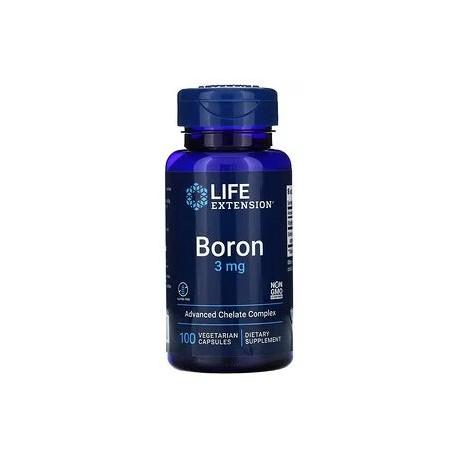 Bor 3 mg  mit 25 mg Riboflavin, 100 vegetarische Kapseln