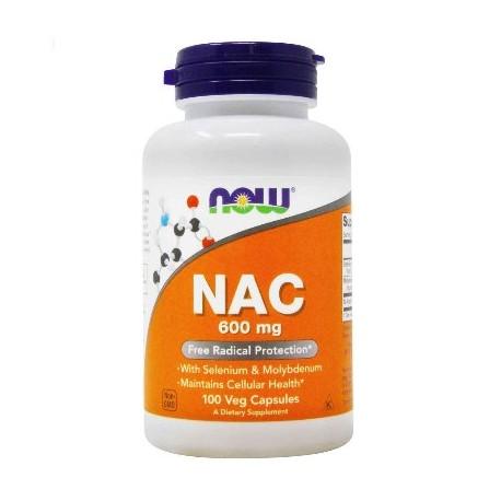 Acetyl-N-Cystein 600 mg 100 Vegetarische kapseln