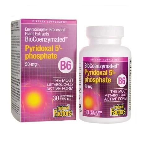 Vitamin B6 P5P 50 mg 30 Kapseln Vegan Vegetarisch