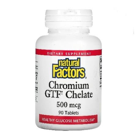 Chrom GFT-Chelat 500mg 90Tabletten Vegan Vegetarisch