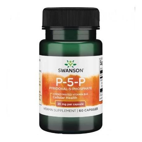 Vitamin B-6 P5P, koenzymiert - 20 mg 60 Kapseln