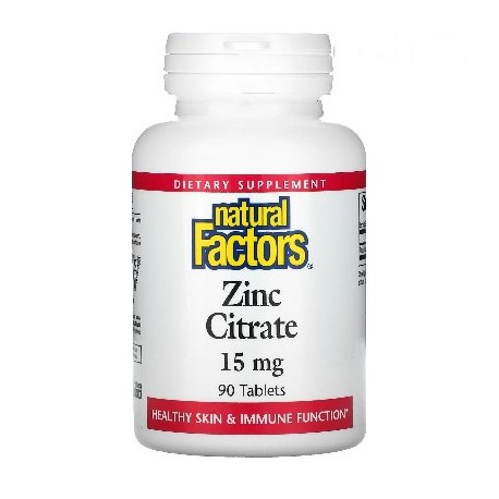 Zinkcitrat 15 mg 90 Tablette, Vegan